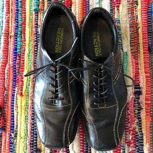 Kenneth Cole Shoes - Kenneth Cole Leather Dress Sneaker Shoe Black 10.5